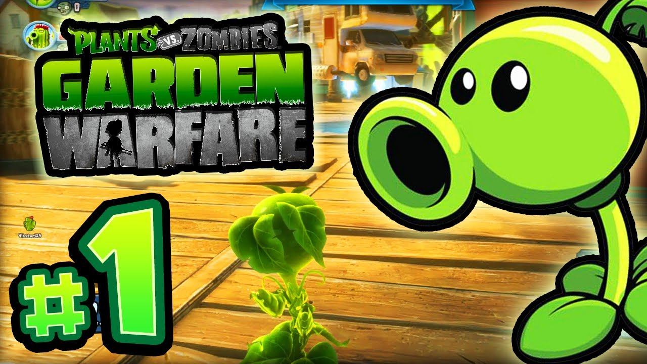 Plants vs zombies garden warfare 1 live w ali a - Plants vs zombies garden warfare xbox one ...