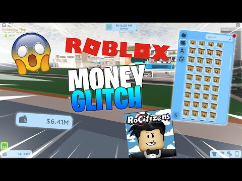 Rocitizens Money Glitch Youtube