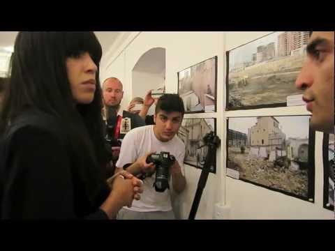 Loreen visits the organization Civil Rights Defenders in Baku