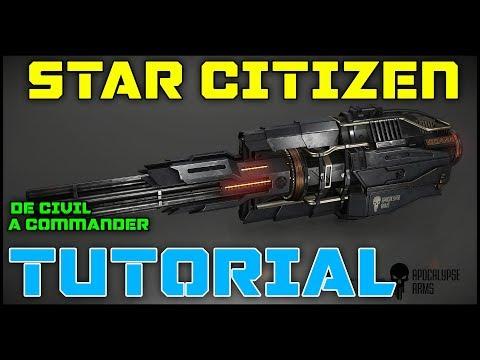 STAR CITIZEN TUTORIAL - CAP#2 | De Civil a Commander: Lore del juego  | GAMEPLAY ESPAÑOL