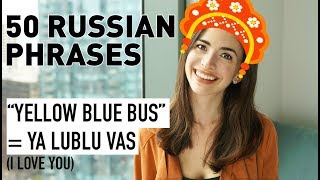 50 COMMON PHRASES IN RUSSIAN: BASIC RUSSIAN