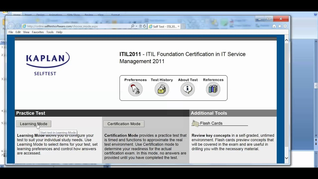 How To Pass The Itil V3 Test Youtube