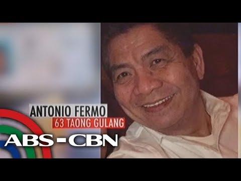SOCO: The death of 63-year-old Anton Ferno