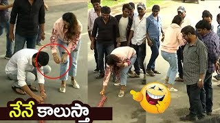 Payal Rajput Super Excited Moments at Venky Mama Movie Success Celebrations | Filmylooks