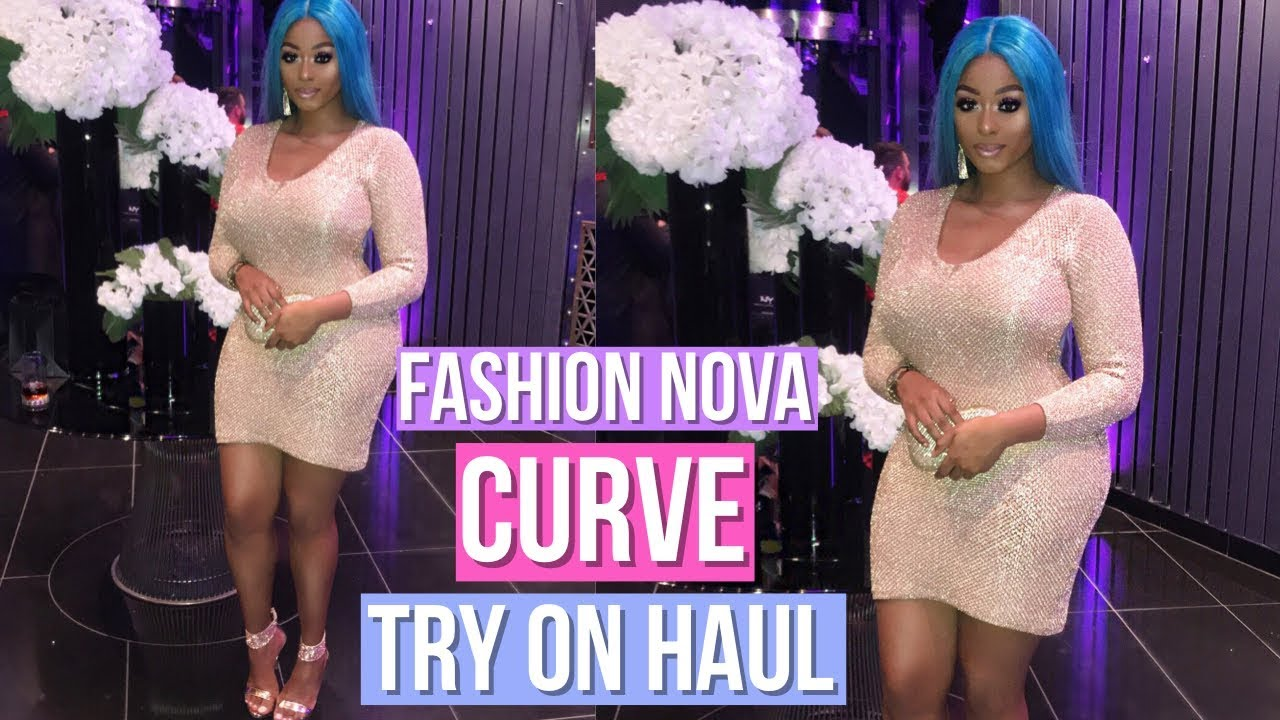 fashion nova curve try on haul! | bbw | vintynellie - youtube