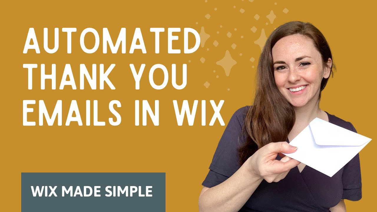 Send an Automated Email through Wix Ascend