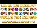 Agar.io/Agario LVL 100 ACC GIVEAWAY WITH 16K COINS//650 SUBS SPECIAL