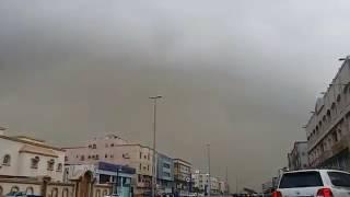 بالفيديو والصور.. تحذير من حالة الطقس في مكة وعاصفة مدار تجتاح جدة