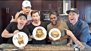 PANCAKE ART CHALLENGE FT. TEAM ALBOE
