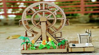 How to make a Joint Wheel -ferris Wheel From Cardboard at Home ! Joint wheel- ferris.
