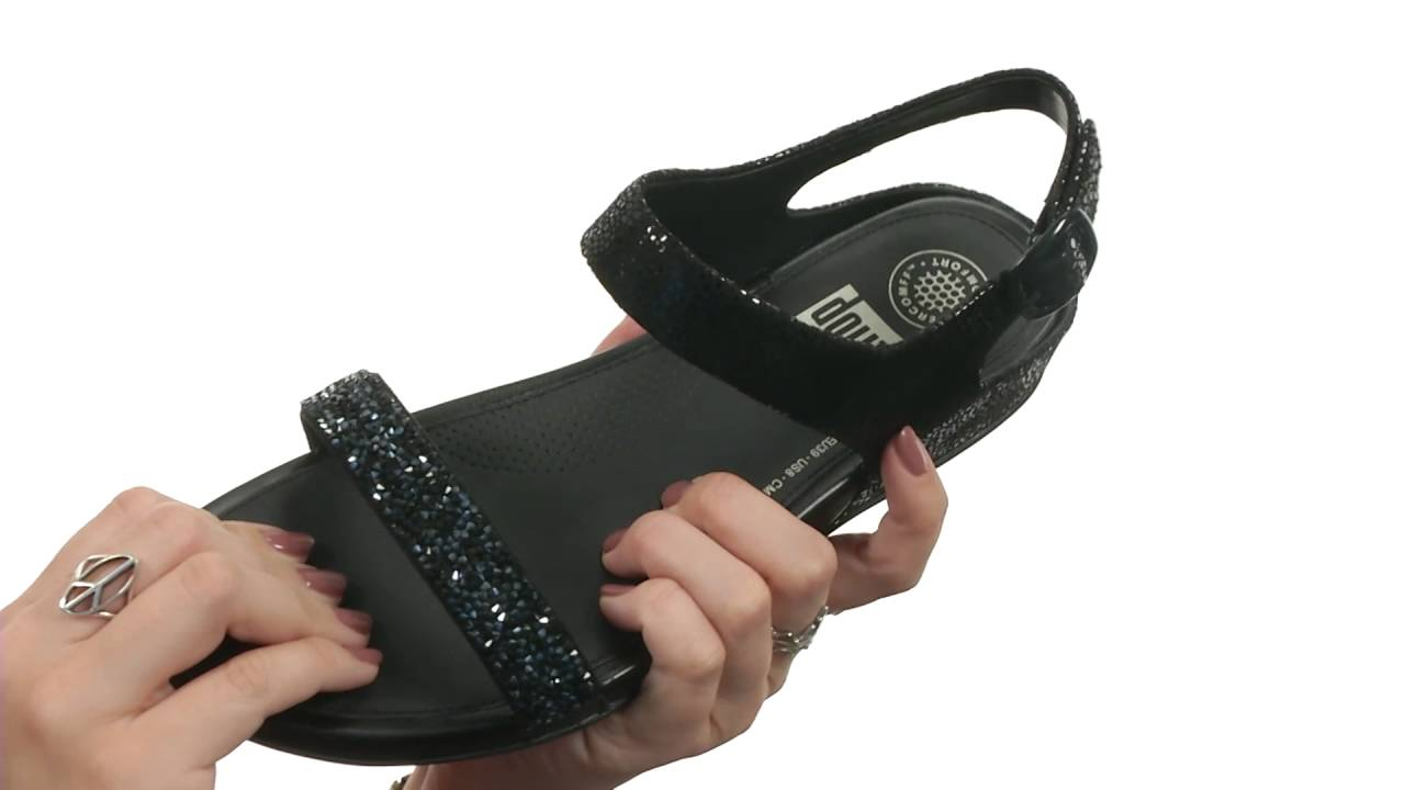 b86c711cd FitFlop Banda Roxy Sandal SKU 8733272 - YouTube