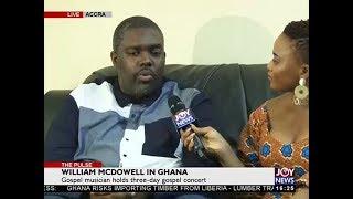 William McDowell in Ghana The Pulse on JoyNews 27 4 18