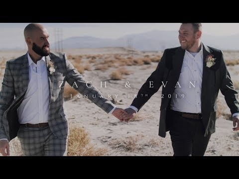 EMOTIONAL GAY WEDDING | Zach & Evan's | Palm Springs, CA | Ace Hotel & Swim Club