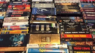 My VHS Collection 2017 (Part 1)
