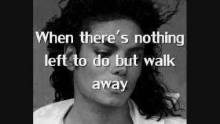 Don't walk away - Michael Jackson [lyrics]