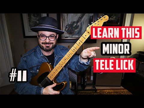 Learn this A minor Country Guitar Lick #11