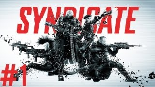 Syndicate - Co-Op Playthrough [HD] - Part 1 | DanQ8000
