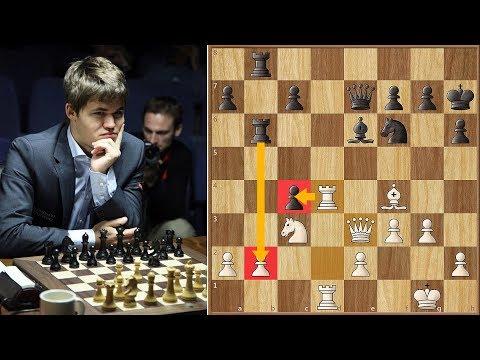 World #1 vs World #2 | Kramnik vs Carlsen | Candidates Tournament 2013. | Round 9