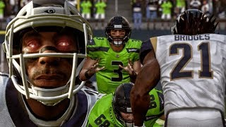 BATTLING RUSSELL WILSON DOWN TO THE FINAL PLAY! Madden 19 Career Mode Gameplay Ep. 3