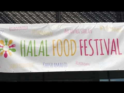Halal food festival The Netherlands 2017 highlights