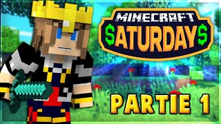 Minecraft Saturdays : Le tournoi des Youtubers ! 1/2