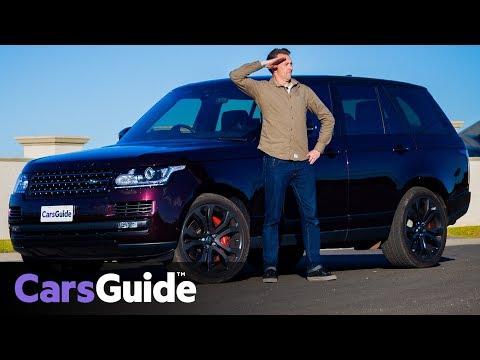 Range Rover SVAutobiography Dynamic 2017 review: road test video - Dauer: 7 Minuten, 33 Sekunden