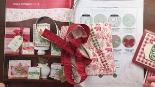 38 Card Ideas + 2019 Stampin' Up! Holiday Catalog Tour