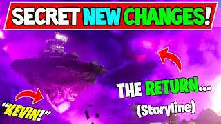 KEVIN the CUBE is BACK Welcome Home! Fortnite: (Storyline and Secret Changes / Season X Event?)