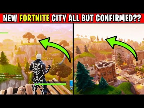 "NEW ""SECRET CITY"" UPDATE Coming to Fortnite: Battle Royale"