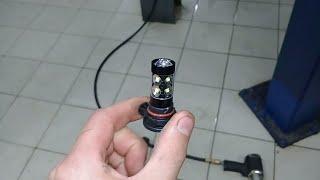Chevrolet Captiva 2014 года замена ламп в ПТФ на светодиодные(1 из способов)