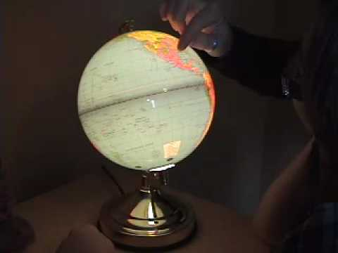 Globe Touch Lamp Product Video