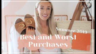 MY BEST & WORST SUMMER PURCHASES // Fashion Mumblr