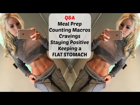 Q&A: Staying positive, Cravings, Macros, Meal Prep, Keeping a Flat Stomach