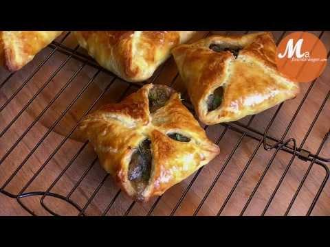 recette-des-feuilletés-aux-champignons-/-mushroom-puff-pastry-recipe