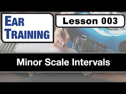EAR TRAINING 003: Minor Scale Intervals