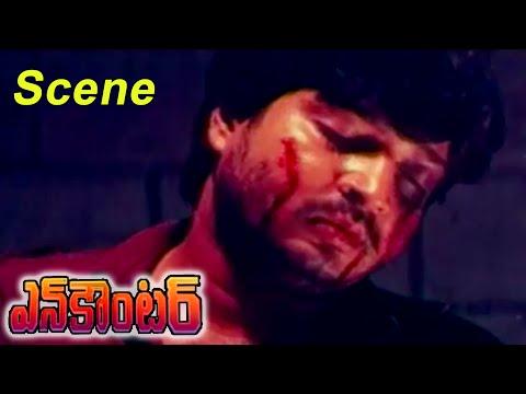 Encounter Movie || Police Tarchered Ramesh Babu || Krishna,Ramesh Babu,Radhika,Roja
