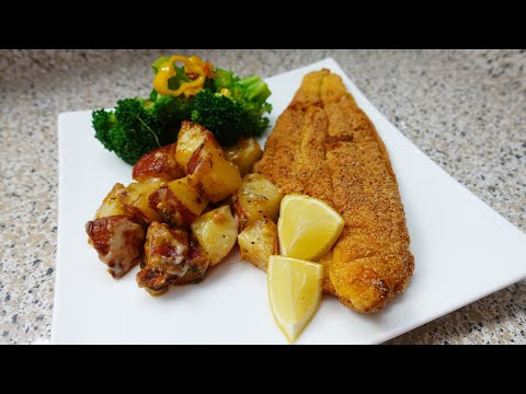 Cooking For Bae Part 6 Fried Catfish Dinner