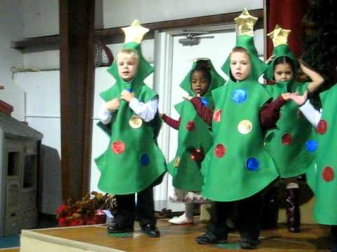 12 milo lla christmas program 2012 im the happiest christmas tree