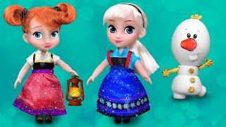 Elsa Bé Nhỏ Gặp Rắc Rối! Elsa Và Anna Bé Bỏng