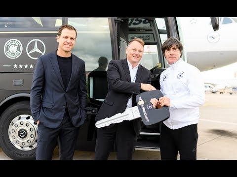 Mercedes-Benz Travego M Bus for German National Football Team