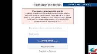 Cae Facebook a nivel mundial #FacebookDown usuarios desesperados piden respuesta