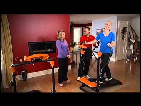 500 090 Tapis De Marche Fitness Magnetique I Exerciseuri Tva Boutiques Youtube