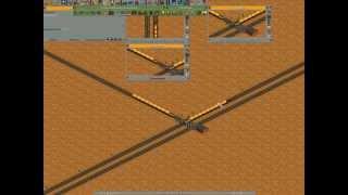 OpenTTD светофоры. Обучающий видеоурок