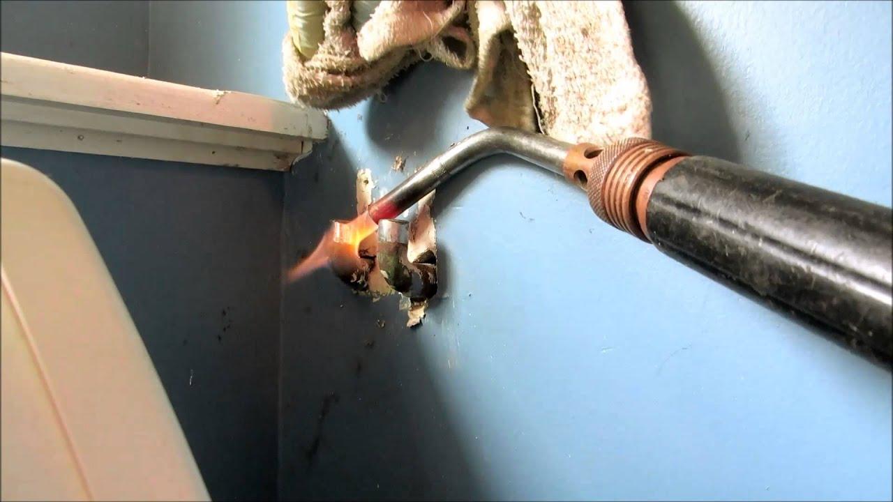 washing machine shutoff valve repair
