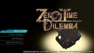 Zero Escape: Zero Time Dilemma - Playthrough Part 1 (CQD-END:1) [PS4]