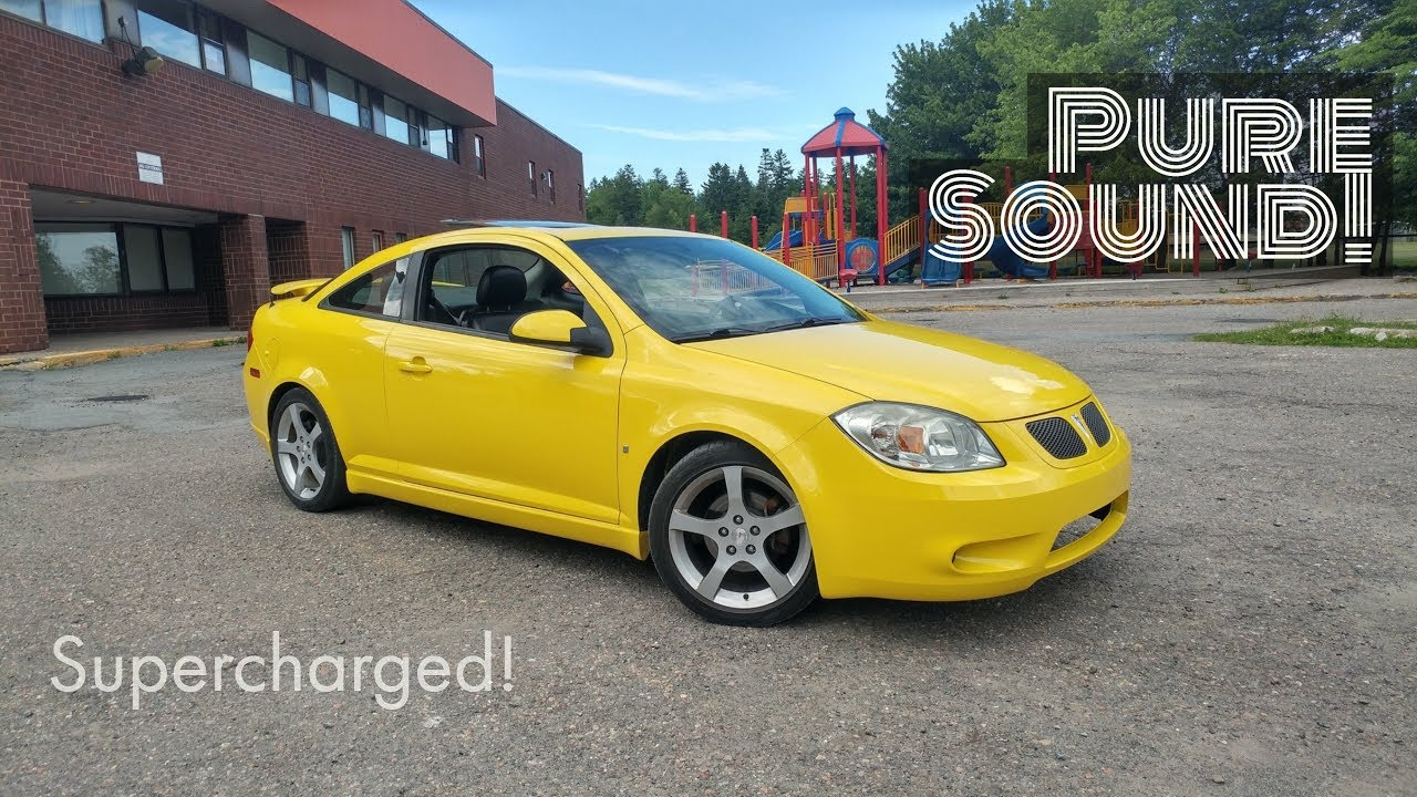 hight resolution of pontiac g5 supercharged with custom exhaust