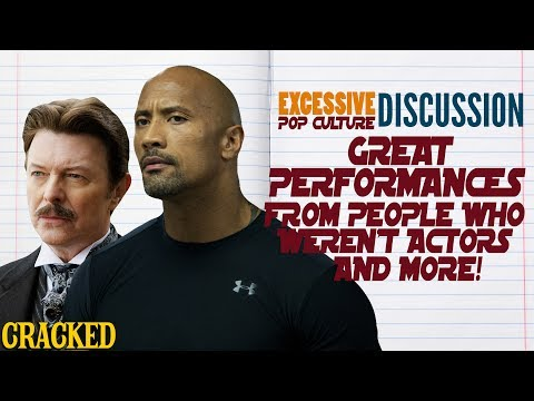 Great Performances from People Who Weren't Actors & More - This Week In EPCD (The Rock, David Bowie)