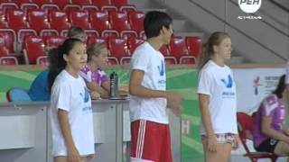Игроки Астраханочки научили играть в гандбол своих болельщиков 16+