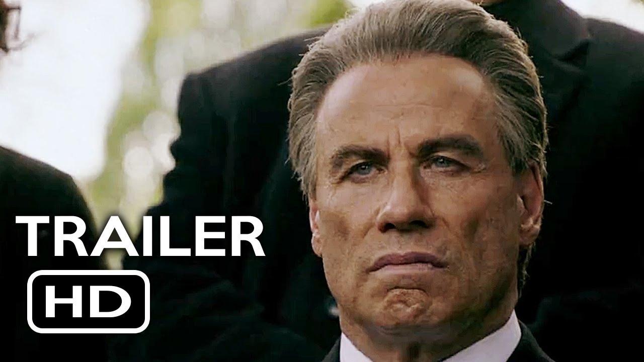 Gotti Official Trailer #1 (2017) John Travolta, Kelly Preston Crime  Biography Movie HD