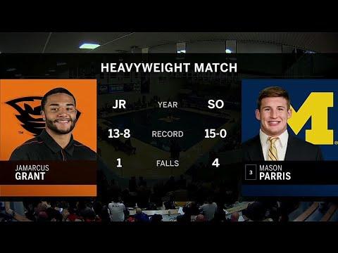 hwt:-#3-mason-parris-(michigan)-vs.-jamarcus-grant-(oregon-state)- -2020-b1g-wrestling